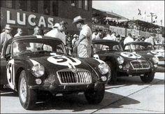 1962 Sebring .. MGA team