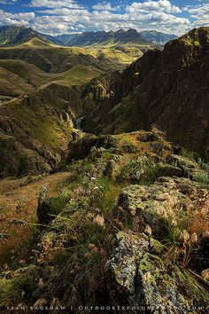 Imnaha River in Oregon's Hell's Canyon country ~ a tributary of the Snake River.