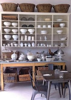 Rustic kitchen shelving inspiration