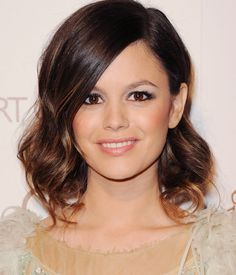 rachel bilson's faux bob is possibly the most adorable updo ever.