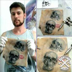 #tattoo  #TATUAGEM  QUER SER UM TATUADOR ? Conheça o CURSO 100% ONLINE  E Aprenda a Tatuar do ZERO e especialize-se neste ramo profissionalmente. Saiba mais  ACESSE ➡ http://hotmart.net.br/show.html?a=Q4313638W&ap=8079