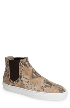 BOEMOS Leather High-Top Slip-On (Men) available at #Nordstrom