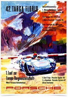 Poster Carros Porsche Targa Florio 42 - Decor10