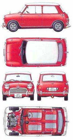 Classic Mini Cooper - Something every petrol head needs to own at one point in his/her life.
