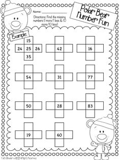 To make studying Math way easier for kids, what you need to do is by giving them the worksheets with fun Math exercises. Check these math worksheets fun for grade and hand them to your kids! Math Worksheets, Math Resources, Math Activities, Punctuation Worksheets, Second Grade Math, Grade 1, Math Stations, Math Centers, Teaching Math