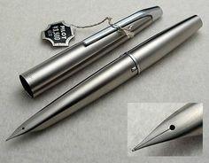 Pilot Original MYU 701 Steel Fountain Pen.