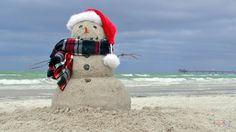 The only snowman we'll see in Florida! :)
