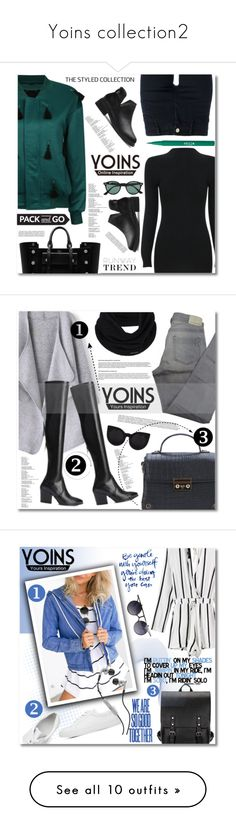 """""""Yoins collection2"""" by angel-a-m on Polyvore featuring Mulberry, STELLA McCARTNEY, Stila, Ray-Ban, Comptoir Des Cotonniers, Delalle, prAna, Skullcandy, Eve Lom and OPI"""