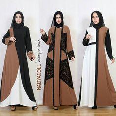 #PaidPrompte . ExclusiveSimple Elegant Assalamualaikun ukhti ... buat yang cari dress2 muslimah High quality dengan desain yang cantik  @nadyacoll  @nadyacoll @nadyacoll tempatnya   Banyak pilihan dari dress harian pesta abaya umroh dan masih banyak lagi yang bisa kamu padu padankan dengan hijab syar'ie mu Yuk Visit & Follow ... dan dapatkan koleksi terbarunya Moslem Fashion, Niqab Fashion, Modest Fashion, Fashion Dresses, Modele Hijab, Mode Abaya, Abaya Designs, Muslim Dress, Islamic Fashion