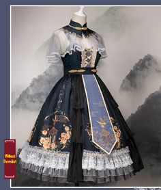 LolitaWardtobe - Bring You the latest Lolita dresses, coats, shoes, bags etc from Trustworthy Taobao indie Brands. We never resell Lolita items from untrustworthy Taobao stores. Pretty Outfits, Pretty Dresses, Beautiful Dresses, Flower Dresses, Bridal Dresses, Cosplay Dress, Cosplay Outfits, Old Fashion Dresses, Fashion Outfits
