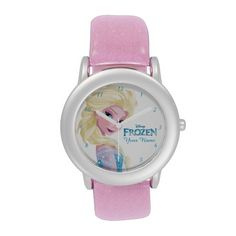 So much better than anything you'll find in a toy store, these Elsa from Frozen kids wrist watches are personalized with their first name.  A picture of Elsa and the Frozen logo also appear.  You can customize the watchband for a different color too. I got the silver one and it looks really pretty.  AWESOME gift idea for a little girl!  She will love it.  <3