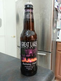 Great Lakes Brewing Burning River Pale Ale: Good hoppiness but so so malt taste