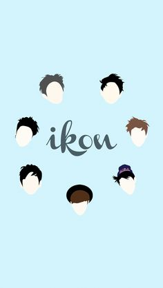 iKon wallpaper Set : I ❤️ iKon Cr. iKonfanart