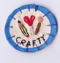 Crafty Patch by Hanecdote on Etsy, £7.00