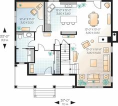 Attractive Country with Options - 21370DR | 2nd Floor Master Suite, CAD Available, Canadian, Country, Den-Office-Library-Study, Metric, PDF, Photo Gallery, Traditional | Architectural Designs
