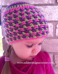 Ravelry: Jelly Bean Beanie pattern by Ashley Designs $5.00