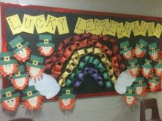march bulletin board that i made