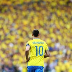 Zlatan Ibrahimović of Sweden in action during their UEFA EURO 2016 Group E match against Italy