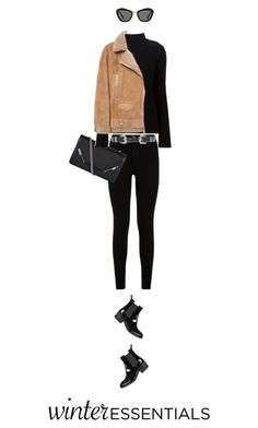 """""""Untitled #88"""" by smileyface2299 ❤ liked on Polyvore featuring Jeffrey Campbell, 7 For All Mankind, Yves Saint Laurent, Helmut Lang, Acne Studios, ASOS and Miu Miu"""