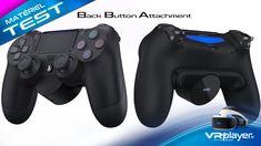 DualShock 4 : TEST du Back Button Attachment l'accessoire PlayStation Playstation, Console, Buttons, Docking Station, Accessories, Roman Consul, Consoles, Plugs