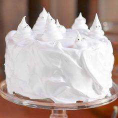White Ghost Cake Boo!