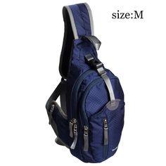 WASING Military Sport Pack Shoulder Sling Backpack Men Women Chest Gym Bag,blue | eBay