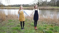 The Handmade Life - The Importance of Crafty Friends New Series, Dungarees, Dear Friend, Yellow Dress, Sewing Patterns, Raincoat, Crafty, Friends, Fabric