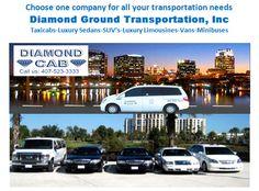 Orlando Florida: Diamond Cab Company