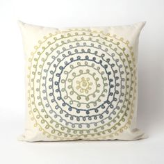 Trans-Ocean Imports 7SB2S410506 Visions Ii Collection Ivory Finish Pillow