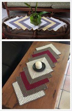 Image result for crochet table runner cotton yarn