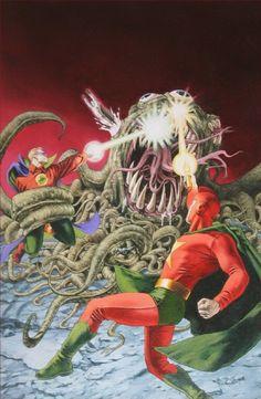 JSA Strange Adventures #1 cover by John Watson
