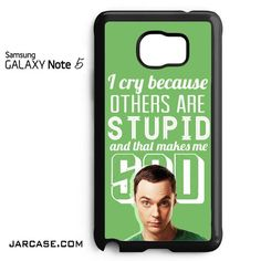 The Big Bang Theory Sheldon cooper 1 Phone case for samsung galaxy note 5 and another devices