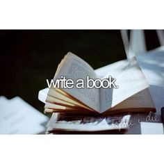 I actually want to write a whole book series! Either love stories or a series for teens! :)