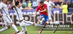 Spain vs. Croatia – 2016 Euro Cup – Group D Predictions and Betting Preview – June 21, 2016