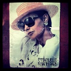 #Vintage #EmanuelleKhanh paris #Sunglasses