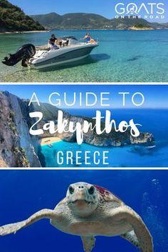 Travel Guide For Greek Island Zakynthos