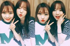 lovelyz´s sujeong and kei
