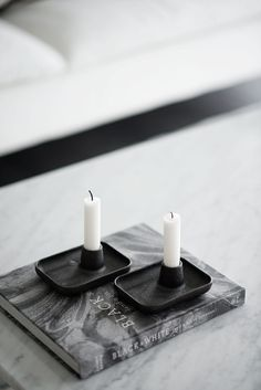 Allas candlesticks from Iittala Room Diffuser, Christmas Scents, Candels, Scandinavian Home, Interior Design Inspiration, Own Home, Soy Candles, Ceramic Art, Candle Holders