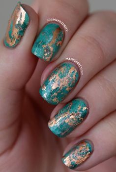 Marble nails FTW!