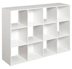 ClosetMaid Cubeicals 12 Cube Organizer, White ClosetMaid