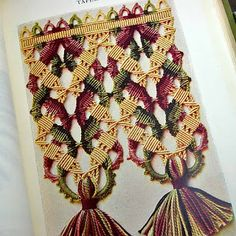 1915 German Vintage Handcrafts Book. From details in the Decor