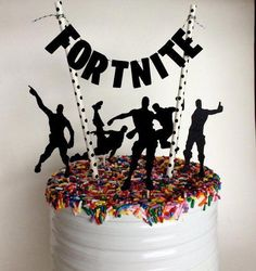 Fortnite Cake Topper, Fortnite Birthday Party Decorations, Pennant Cake Topper, Video Game Topper, G - #Birthday #cake #Decorations #Fortnite #game #Party #Pennant #Topper #video #boysbirthdaycakes