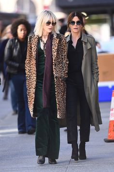 Smooth Criminals! Sandra Bullock and Cate Blanchett Spotted on Set of All-Female Reboot Ocean'sEight
