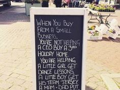 Forget Black Friday think of Small Business Saturday and support your Main Street