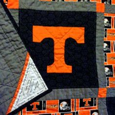 University of Tennessee quilt - Go Vols!