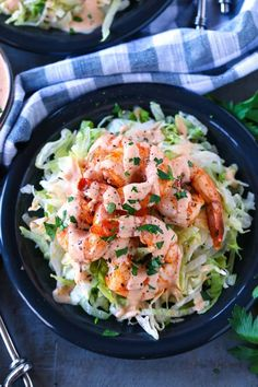 Our Shrimp Remoulade recipe starts with chilled, roasted shrimp that\'s drizzled with remoulade sauce! #shrimprecipes #appetizerrecipes #appetizers #seafoodrecipes #recipes #remoulade #thanksgivingrecipes #christmasrecipes #newyearseve