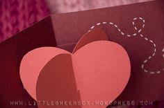Popping Heart, pop up card tutorial