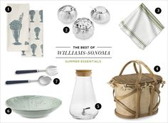 The best Summer Essentials from Williams-Sonoma | Rue
