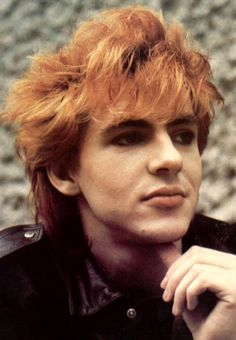 Nick Rhodes, with this hair, was my grade school crush.