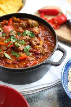 Chilli con carne recipe chilli con bbc and chilli recipes easy chilli con carne chilli con carne recipechili forumfinder Image collections